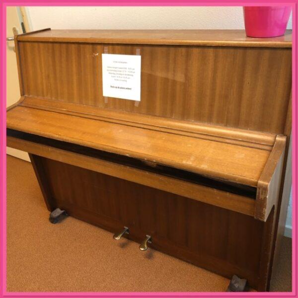 Piano spelen?
